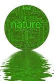 природа иллюстрации Стоковые Изображения RF