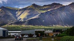 Природа Исландии - ландшафт на полуострове Snæfellsnes стоковые изображения