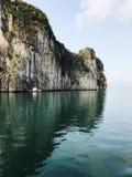 Природа и остров Вьетнама в заливе halong Стоковая Фотография RF