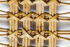 Природа картины для предпосылки лозы текстуры weave ремесленничества Стоковые Фотографии RF