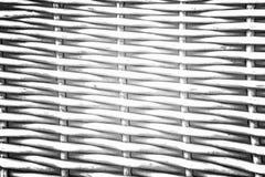 Природа картины для предпосылки текстуры белизны weave ремесленничества Стоковая Фотография
