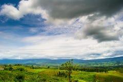 Природа ландшафта в Таиланде Стоковые Изображения RF