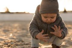 Природа малыша исследуя Стоковые Фотографии RF
