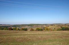 Природа осенью стоковое фото rf
