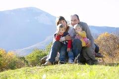 природа семьи стоковые изображения