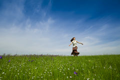природа танцы Стоковые Изображения RF