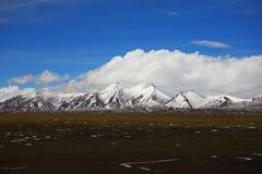 природа Тибет ландшафта фарфора Стоковое Изображение