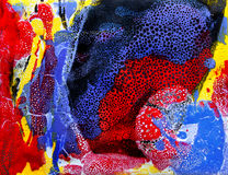 природа тропическое XI huang bau абстрактного искусства стоковое фото