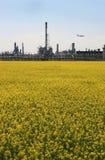 природа 2 индустрий против Стоковое Изображение