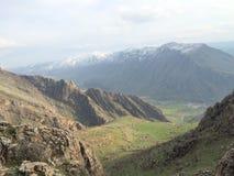 Природа Snowy в Курдистане стоковая фотография