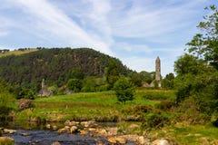 Природный парк Ирландия Glendalough стоковые фото