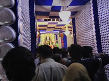 ПРИРОДЫ БОГА БОГОВ Durga MAA Стоковое Изображение RF