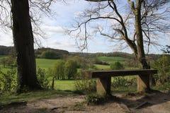 Природа Англии ландшафтов Стоковое фото RF