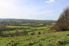 Природа Англии ландшафтов Стоковое Фото