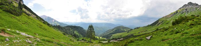 Природа Альпов Стоковое фото RF