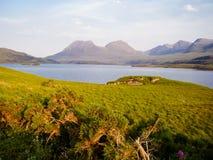 Природа береговой линии Шотландии Стоковая Фотография