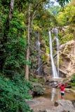 Природа водопада Стоковая Фотография RF