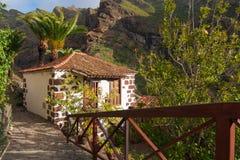 Природа в деревне Masca, Тенерифе Стоковые Изображения