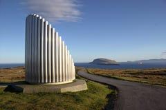Природа в Фарерских островах Стоковая Фотография RF