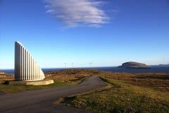 Природа в Фарерских островах Стоковое Изображение