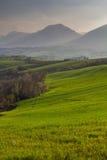 Природа в центральной Италии, красивые виды Стоковая Фотография