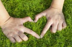 Природа влюбленности Стоковая Фотография