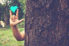 Природа влюбленности Стоковое Изображение