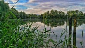 Природа в Rinteln Германии Стоковая Фотография