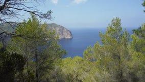 Природа и остров Стоковое Изображение