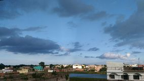 Природа - красивое небо Стоковые Фото