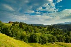 Природа к деревне Стоковые Фотографии RF
