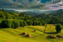 Природа к деревне Стоковые Изображения