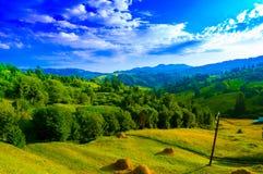 Природа к деревне Стоковое Изображение RF