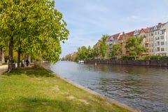 Природа на замке Charlottenburg в Берлине Стоковые Изображения RF