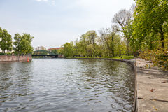 Природа на замке Charlottenburg в Берлине Стоковая Фотография