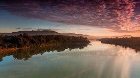 Природа доброго утра Стоковые Изображения