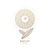 Природа логотипа Стоковые Изображения RF