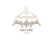 Природа логотипа Стоковые Фотографии RF