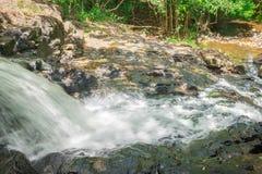 Природа с водопадом и поток в Itacare стоковые фото