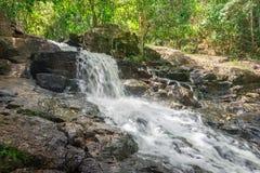 Природа с водопадом и поток в Itacare стоковое фото rf