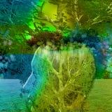 Природа человека Стоковые Фотографии RF