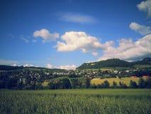Природа 2013 2014 Швейцарии Стоковая Фотография RF