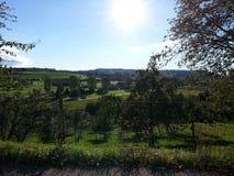 Природа 2013 2014 Швейцарии Стоковое фото RF