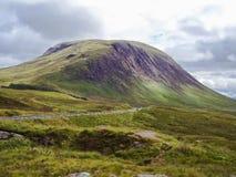 Природа Шотландии в лете Стоковые Изображения