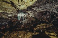 природа элемента конструкции состава подземелья подземная Стоковая Фотография