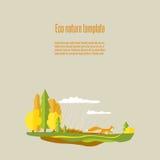 Природа 03 Eco Иллюстрация вектора