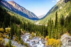 Природа Kirgiz зоны Kol алы Стоковое Фото