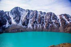 Природа Kirgiz озера Kol алы Стоковые Фотографии RF