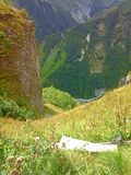 Природа mountains-5 Стоковое Изображение