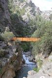 Природный парк каньона Yazılı Стоковое Изображение RF